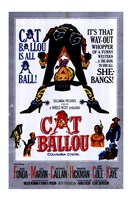 Cat Ballou Film Wall Poster