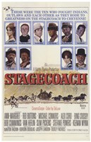 Stagecoach to Cheyenne Wall Poster