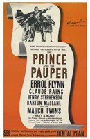 """The Prince and the Pauper - 11"""" x 17"""", FulcrumGallery.com brand"""