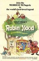 Robin Hood Cartoon Fine Art Print