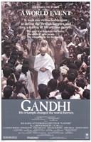 Gandhi Wall Poster