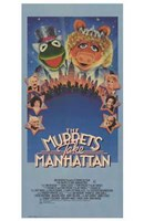 The Muppets Take Manhattan Wall Poster