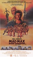 Mad Max Beyond Thunderdome Cast Wall Poster