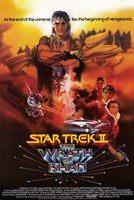 Star Trek 2: the Wrath of Khan Fine Art Print
