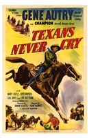 """Texans Never Cry - 11"""" x 17"""" - $15.49"""
