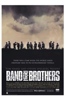 "Band of Brothers Silhouette - 11"" x 17"""