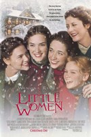Little Women - snow Fine Art Print