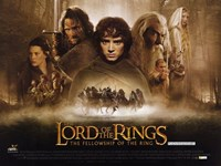 Lord of the Rings: Fellowship of the Ring Framed Print