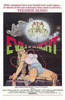 "Evils of the Night, 1985, 1985 - 11"" x 17"", FulcrumGallery.com brand"