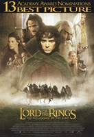 Lord of the Rings: Fellowship of the Ring Best Picture Fine Art Print
