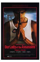 """Our Lady of the Assassins - 11"""" x 17"""" - $15.49"""