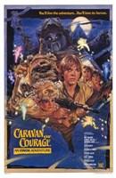"""Ewok Adventure - Caravan of Courage - 11"""" x 17"""""""