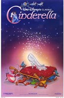 Cinderella Glass Slipper Wall Poster