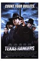 "Texas Rangers - 11"" x 17"""