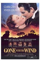 Gone with the Wind Scarlett O'Hara Framed Print