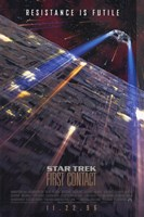 Star Trek: First Contact Wall Poster