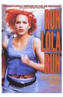 Run Lola Run Orange Wall Poster
