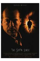 Sixth Sense Bruce Willis Wall Poster