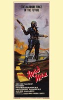 Mad Max Maximum Force of the Future Tall Framed Print