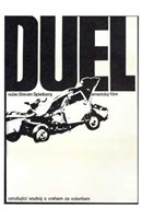 "Duel Crashed Car - 11"" x 17"""
