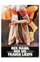 """The Man Who Loved Women German - 11"""" x 17"""" - $15.49"""