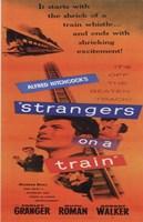 Strangers on a Train Fine Art Print