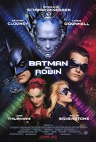 Batman and Robin Movie Framed Print