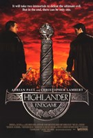 Highlander: Endgame Wall Poster