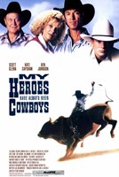 """My Heroes Have Always Been Cowboys White - 11"""" x 17"""""""