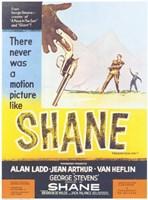 """Shane Dropping Gun - 11"""" x 17"""""""