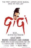 "Gigi The Musical - 11"" x 17"""