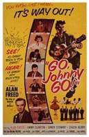 """Go  Johnny  Go! - 11"""" x 17"""", FulcrumGallery.com brand"""
