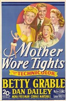 """Mother Wore Tights - 11"""" x 17"""", FulcrumGallery.com brand"""
