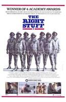 "The Right Stuff Astronauts - 11"" x 17"""