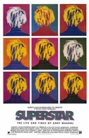 """Superstar  Life Times of Andy Warhol - 11"""" x 17"""""""