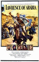 Lawrence of Arabia Cast Fine Art Print