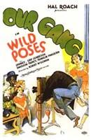 """Wild Poses - 11"""" x 17"""""""
