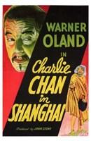"""Charlie Chan in Shanghai - 11"""" x 17"""""""