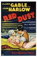 """Red Dust Gable and Harlow Film - 11"""" x 17"""""""