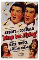 Abbott and Costello, Keep 'Em Flying, c.1941 Fine Art Print