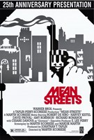 """Mean Streets Black and White - 11"""" x 17"""""""