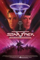 Star Trek 5: the Final Frontier Wall Poster