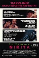"""La Femme Nikita - movie scenes - 11"""" x 17"""""""