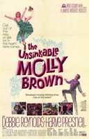 The Unsinkable Molly Brown (movie poster) Fine Art Print