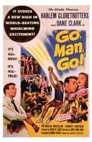 """Go  Man  Go - 11"""" x 17"""", FulcrumGallery.com brand"""