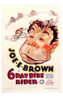 "6 Day Bike Rider - 11"" x 17"", FulcrumGallery.com brand"