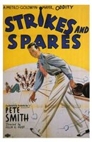 """Strikes and Spares - 11"""" x 17"""""""