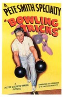 "Bowling Tricks - 11"" x 17"""