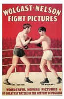 "Wolgast-Nelson Fight Pictures - 11"" x 17"""