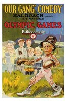 """Olympic Games - 11"""" x 17"""""""